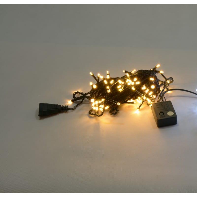 Lampki Choinkowe Zewnętrzne 200 Led Ciepły Biały Lm09 5 S Vitalux